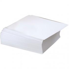 White Metal Inset Paper