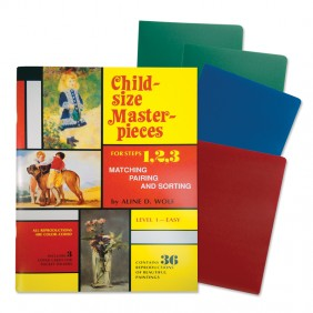 Child-Size Masterpieces ~ Level 1- Easy with Folders