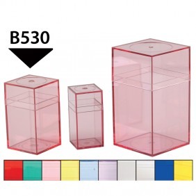 Medium Colored Plastic Boxes