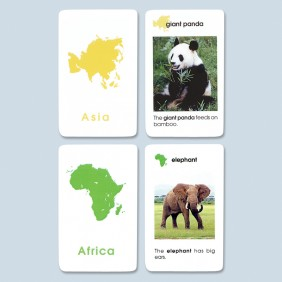 World Mammal Cards - Primary / Early Childhood