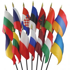 Eastern Europe Flag Set