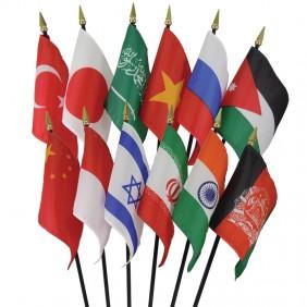 Asia Flag Set