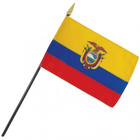 Ecuador Nation Flag