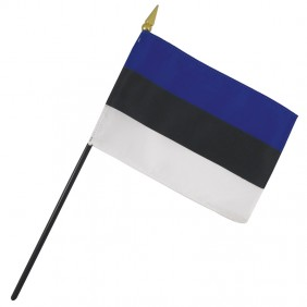 Estonia Nation Flag