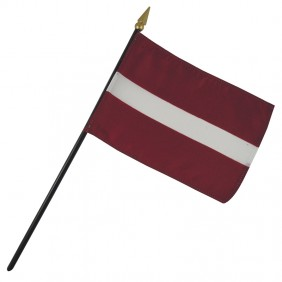 Latvia Nation Flag