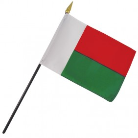 Madagascar Nation Flag