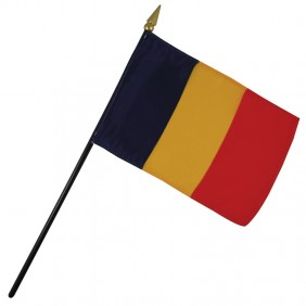 Romania Nation Flag