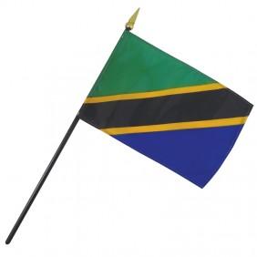 Tanzania Nation Flag