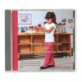 Walking on the Line & Rhythmic Activities on the Line CD