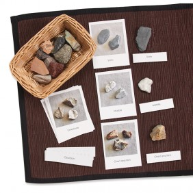 Rocks with Matching Cards