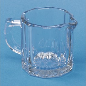 Small Glass Creamer