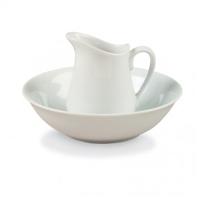 Porcelain Pitcher & Bowl