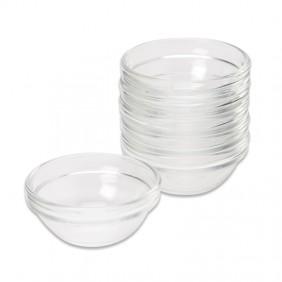Small Glass Bowl Set