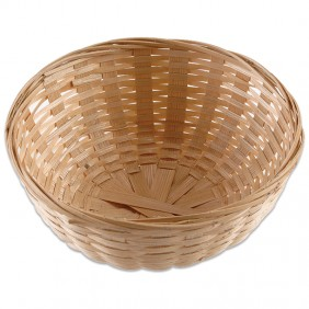 Small Round Bamboo Basket