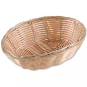 Elliptical Plastic Basket