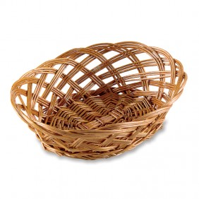 Small Elliptical Willow Basket