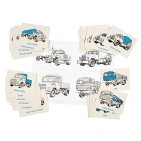 Parts of Trucks Cards