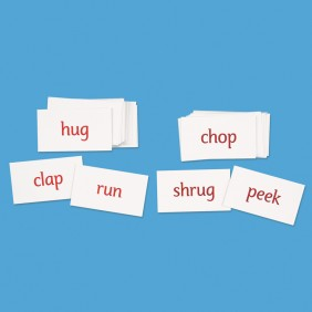 Action Word Cards