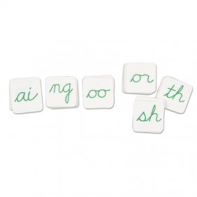 Cursive Phonogram Alphabet