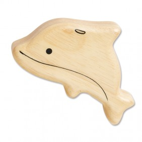 Wooden Dolphin Shaker