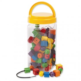 Wooden Beads & Laces