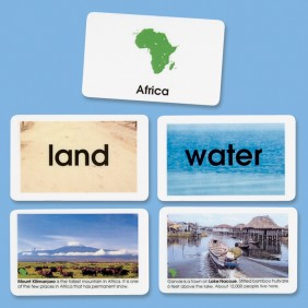 Elementary World Land & Water Cards