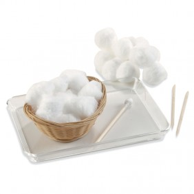 Making a Cotton Applicator Activity