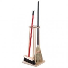 Broom & Mop Stand
