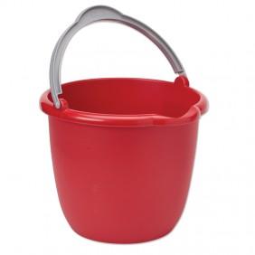 Red Plastic Bucket