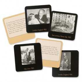 Maria Montessori Centenary Card Set