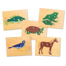 Parts of the Animal Puzzles