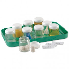 Solid, Liquid, Gas Sorting Jars