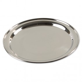 Round Stainless Steel Tray