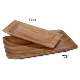 Small Rectangular Carved Tray