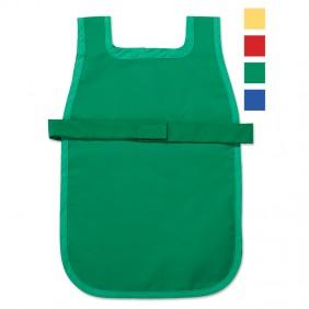 Primary Cloth Apron wih Easy-Fasten Velcro Closure