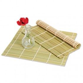 Small Square Bamboo Mat