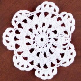 Small Cotton Doily