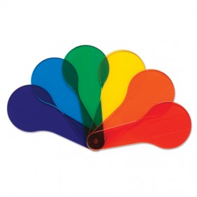 Transparent Color Paddles