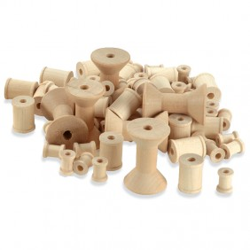 Wooden Spool Assortment