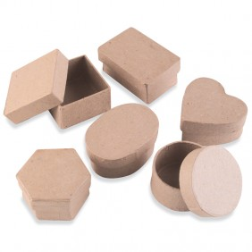 Papier-Mache Boxes