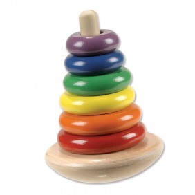 Classic Wooden Rocking Stacker