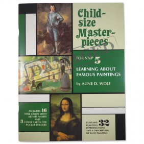 SLIGHTLY DAMAGED Child-Size Masterpieces ~ Learning About Famous Paintings