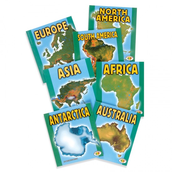 Continent book set montessori services continent book set gumiabroncs Images