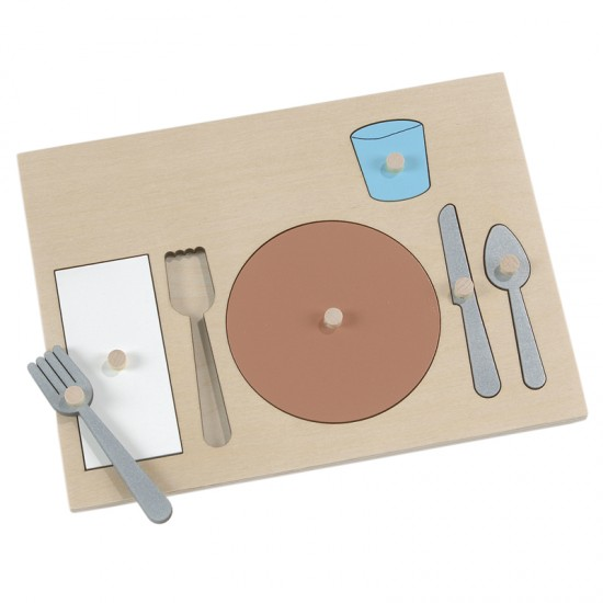 Table Setting Puzzle  sc 1 st  Montessori Services & Table Setting Puzzle - Montessori Services