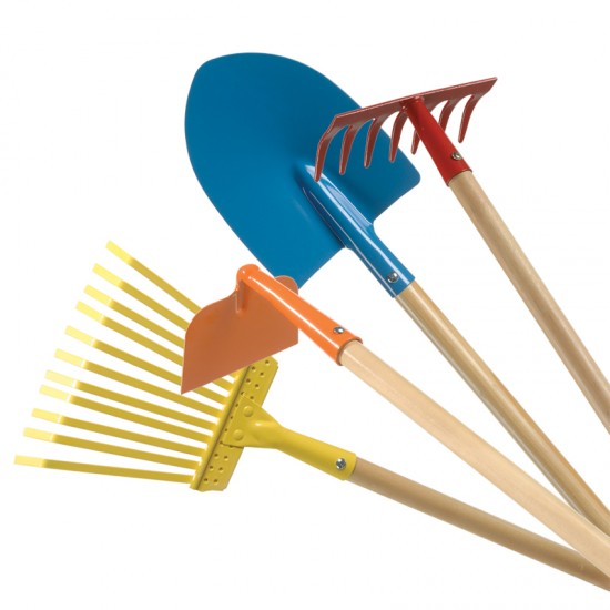 Primary garden tools montessori services for Tools for backyard gardening