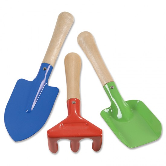Small garden hand tools montessori services for Small garden tool carrier