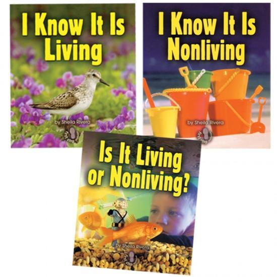 Living Nonliving Book Set Montessori Services