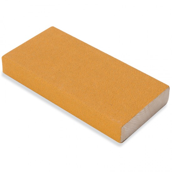 how to use a sanding block