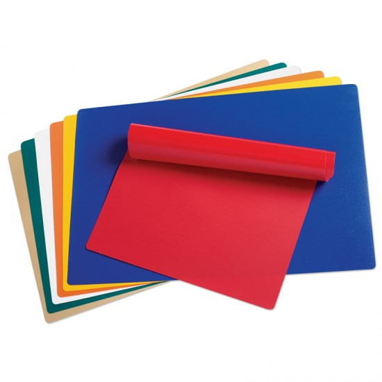 Vinyl Mats With Rounded Corners Assortment Montessori
