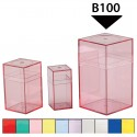 Large Colored Plastic Boxes